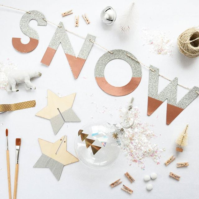 Let It Snow DIY