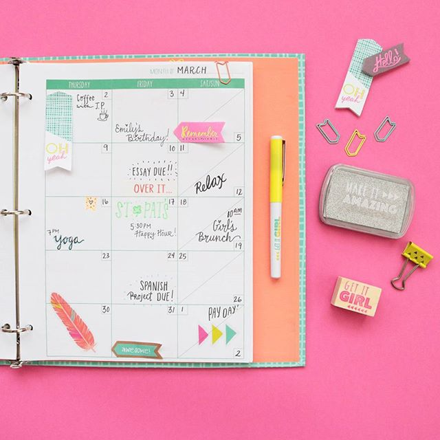 Our Kind Of Marchmadness Plannerlife Plannercommunity Made For Retail